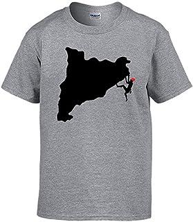 Amazon.es: camisetas de catalunya - L / Ropa especializada: Ropa