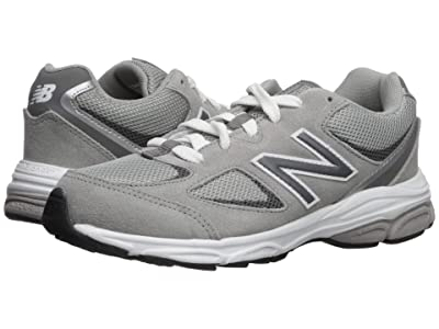 New Balance Kids GK888v2 (Big Kid) (Grey/Grey) Boys Shoes