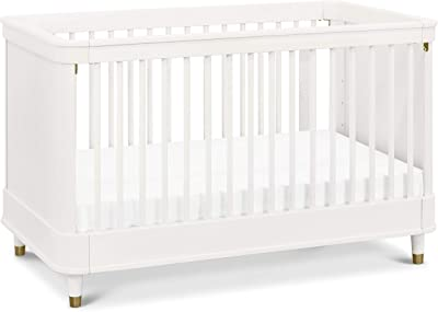 Million Dollar Baby Tanner 3-in-1 Convertible Crib in Warm White, Greenguard Gold Certified