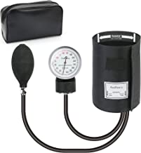 Aneroid Sphygmomanometer, LotFancy Professional Manual Blood Pressure Monitor, Nurse BP Monitor, Large Adult Cuff 13 to 20 Inches, Durable Carrying Case Included, L Cuff