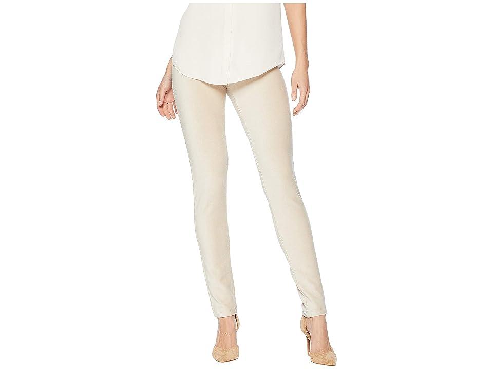 Calvin Klein Ribbed Leggings with Pocket (Latte) Women
