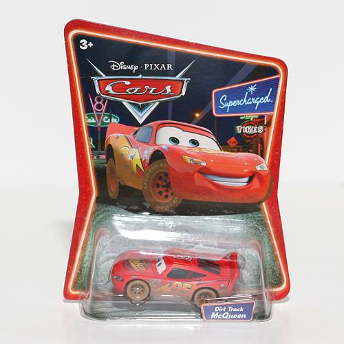 Disney Pixar Diecast Cars Dirt Track McQueen