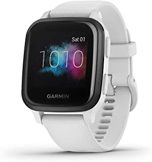 Garmin Venu Sq Music Amazon exclusieve GPS-fitnesssmartwatch met muziekspeler, 1,3 inch touchscreen, gezondheidstracker & ...