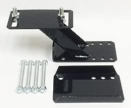 LIBRA Heavy Duty Trailer Spare Tire Wheel Mount Holder Bracket Carrier for 6 & 8 lugs Wheels - 27021