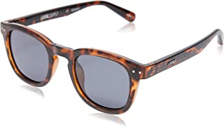 Local Supply Men's AVENUE Polarized Sunglasses - Dark Grey Tint Lens, Polished Tortoiseshell Frames