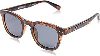 Local Supply Men's AVENUE Polarized Sunglasses - Dark Grey Tint Lens, Polished Tortoiseshell Frames