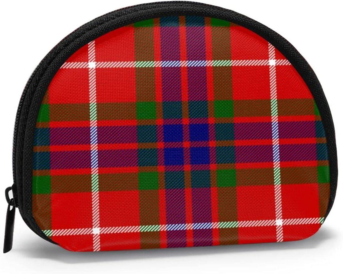 Clan Fraser Tartan Cute small zipper Coin Purses Vintage zipper Pouch Change Purse Wallets