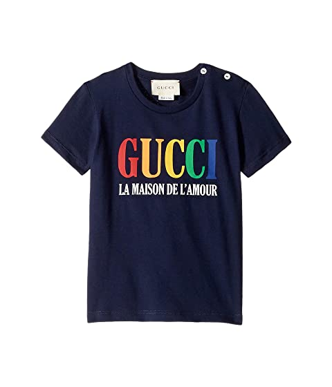 Gucci Kids House of Love T-Shirt (Infant)