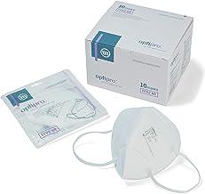 OptiPro deeltjesmasker (KN95 / FFP2) gezichtsmasker - niet-geweven meerlagig systeem met hoge filtercapaciteit - filtert z...