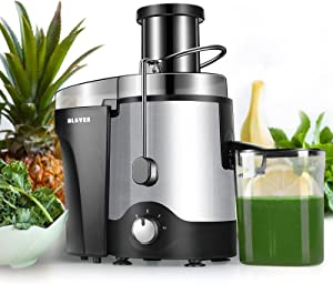 Juicer, Juicer Machine for Vegetable and Fruit, 3 Speed Juice Extractor with 3