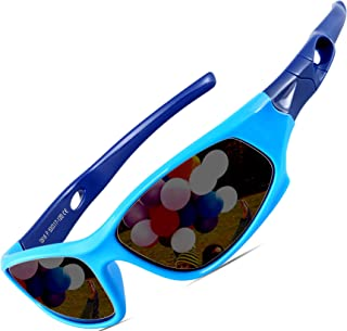 ATTCL Kids Hot TR90 Polarized Sports Sunglasses For Boys Girls Child Age 3-12