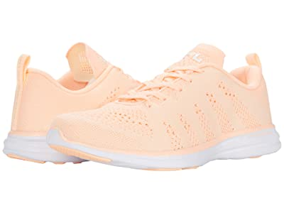 Athletic Propulsion Labs (APL) Techloom Pro (Pastel Peach/Zest/White) Women