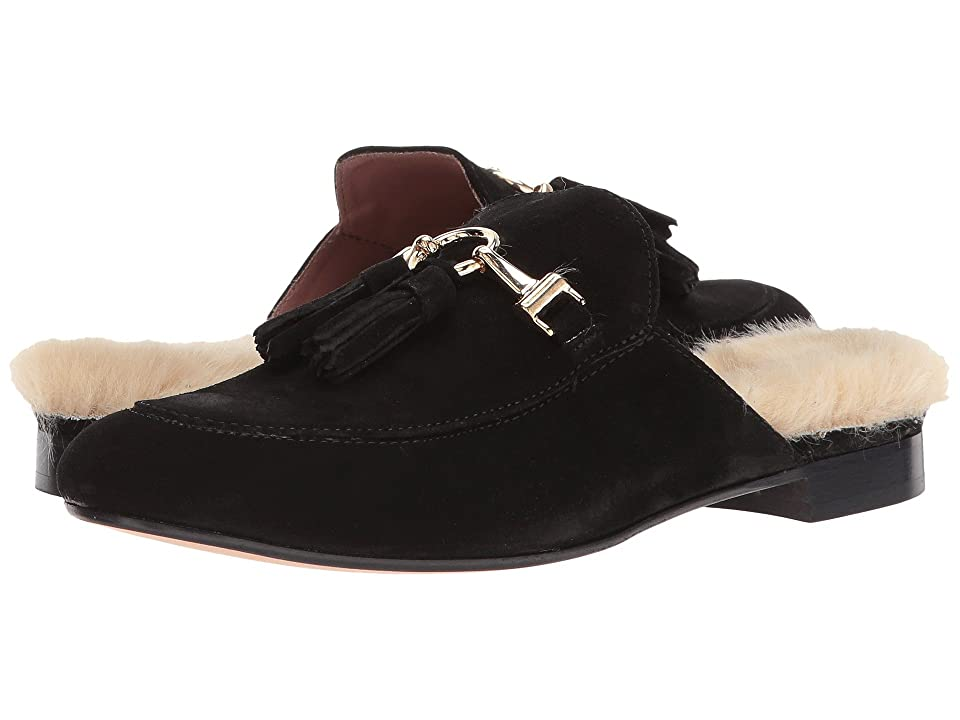 Summit by White Mountain Abelle (Black Suede/Fur) Women