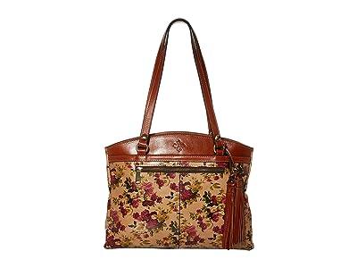 Patricia Nash Poppy Tote w/ Tassel (Antique Rose) Handbags