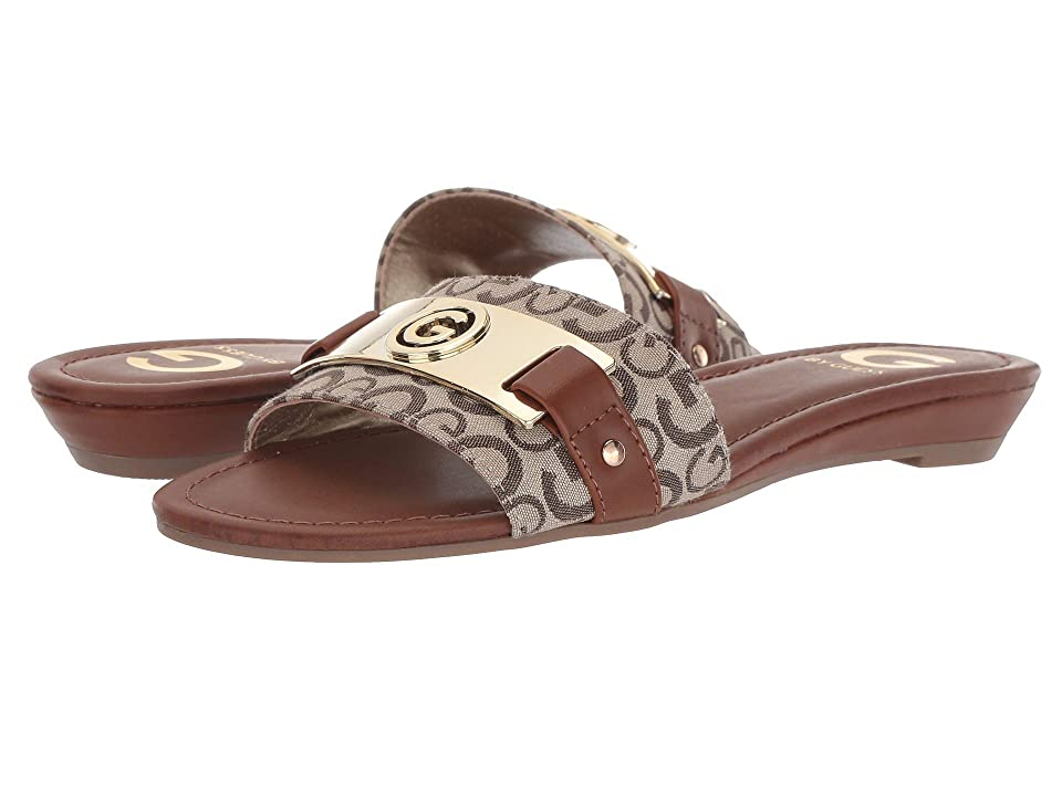 1ff38545968 G by GUESS Jeena (Taupe Burnished Calf Rio Maple) Women