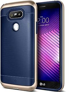 Caseology Wavelength for LG G5 Case (2016) - Stylish Grip Design - Navy Blue (Renewed)