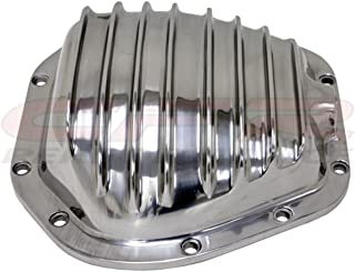 DANA 60 POLISHED ALUMINUM FRONT/REAR DIFFERENTIAL COVER - 10 BOLT