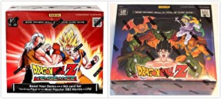 Dragon Ball Z Collectible Card Game Vengeance and Movie Collection Booster Box Bundle, 1 of Each