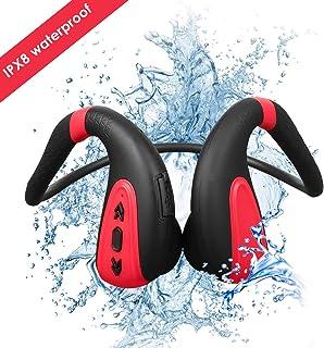 comprar comparacion Auriculares de natación de conducción ósea Reproductores de MP3 de natación Auriculares inalámbricos Bluetooth 5.0 IPX8 Au...