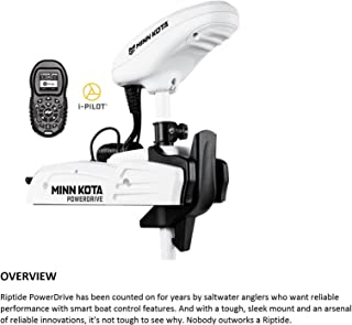 Minn Kota Riptide 70 SP Saltwater Bow-Mount Trolling Motor with i-Pilot and No Foot Pedal (70-lb Thrust, 54