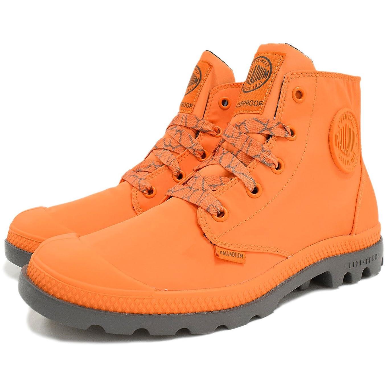 ジョガー雇ったドーム(パラディウム) PALLADIUM ブーツ レディース 女性用 ウィメンズ パンパ パドル ライト WP Orange/Metal(93085-845)