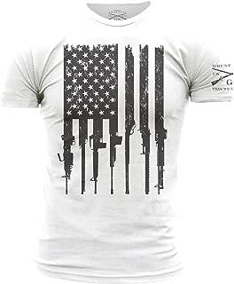 Rifle Flag Men's T-Shirt