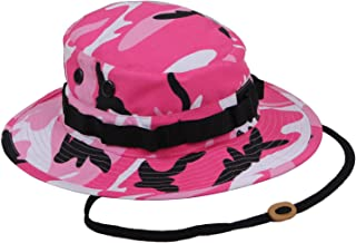 Rothco Military Style Tactical Boonie Hat, Pink Camo