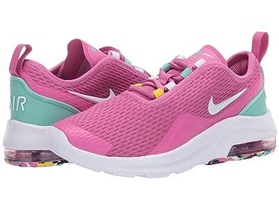 Nike Kids Air Max Motion 2 (Big Kid) (Cosmic Fuchsia/White/Emerald Rise) Girls Shoes