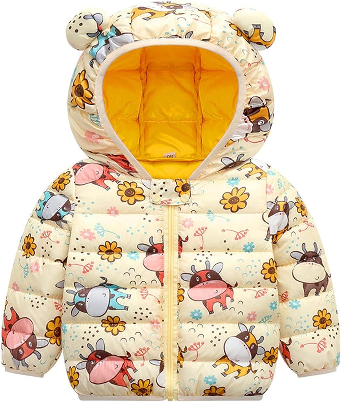 Superlatite Winter Baby Soldering Boys Girls Clothes Bear Jacket Outer Coat Ear Hooded