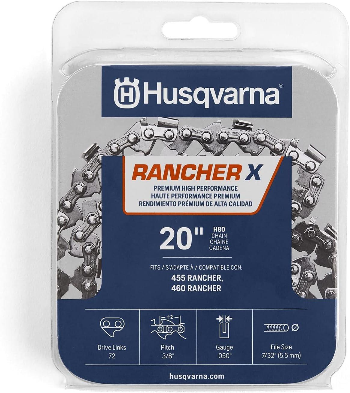 High quality Finally resale start Husqvarna 531300441 H-80 Chainsaw Chain Gray Orange