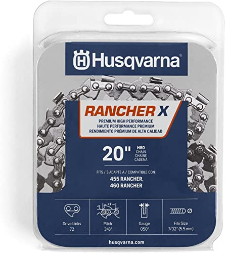 discount Husqvarna new arrival 531300441 H-80 Chainsaw Chain, high quality Orange/Gray outlet sale