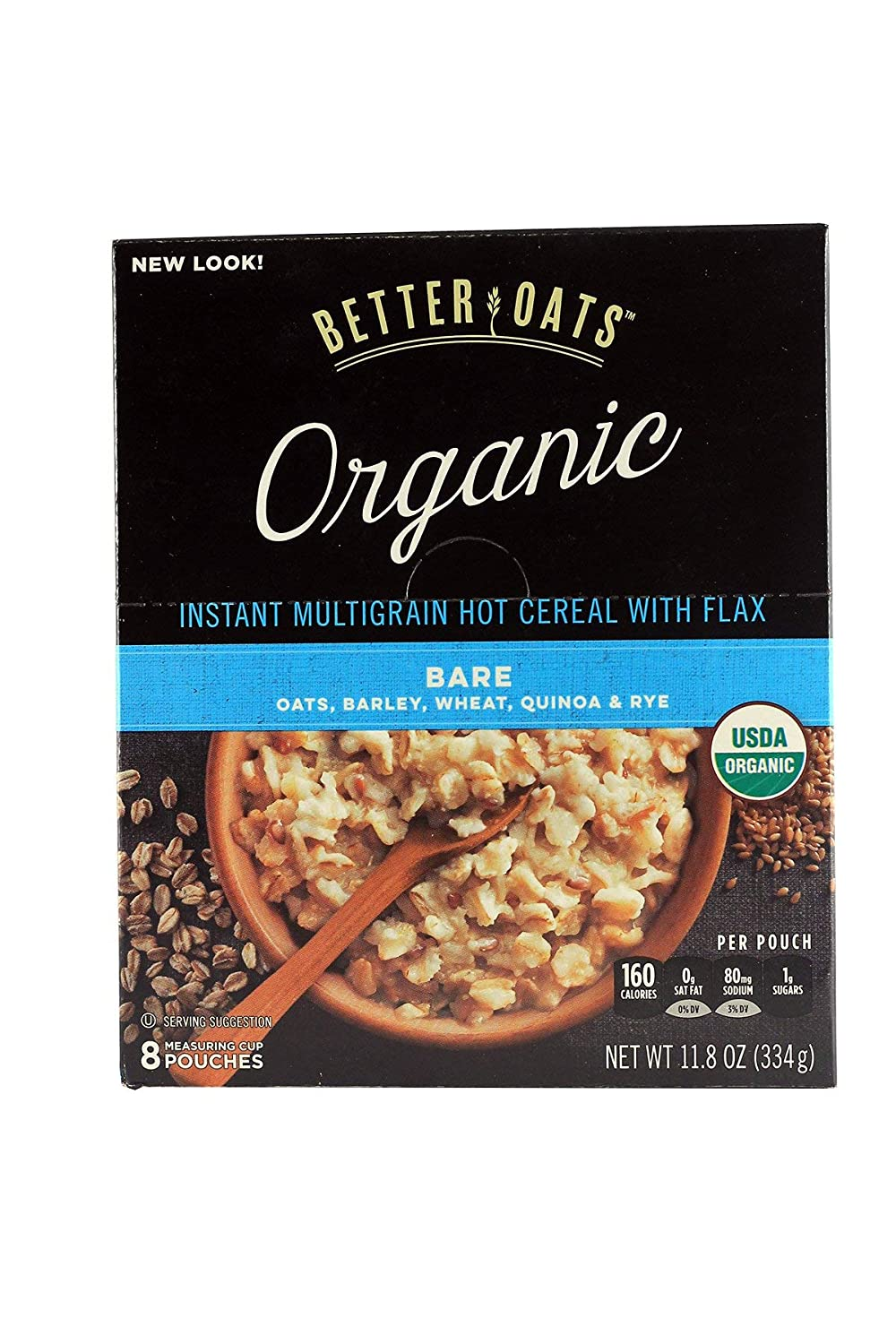 3 set Better Oats Raw Pure Bare 5 popular Multig Max 66% OFF Organic Simple Instant