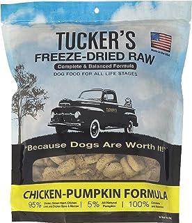 Tucker`s Freeze Dried Raw Dog Food, Chicken & Pumpkin Formula 14oz