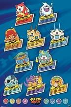 Pyramid America Yo-Kai Watch Top Ten Television Cool Wall Decor Art Print Poster 24x36