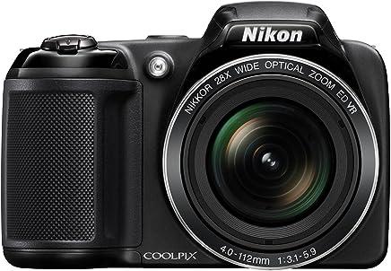Nikon Coolpix L340 20.2MP Digital Camera with 28x Optical...