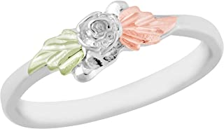 on Silver Rose Ring …