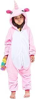 Yutown New Kids Unicorn Costume Animal Onesie Pajamas Halloween Dress Up Gift