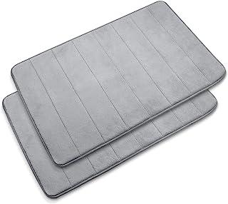 "Baytion Large Size Bath Mat 19.67"" x 31.48"", Anti-Slip Memory Foam Bathroom Mat,Soft & Comfortable Floor Rug With Super Ab..."
