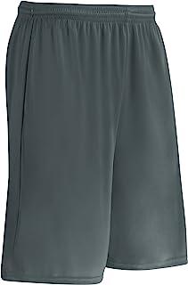 CHAMPRO Clutch Z-Cloth Dri-Gear Short; Women's, Charcoal, X-Small