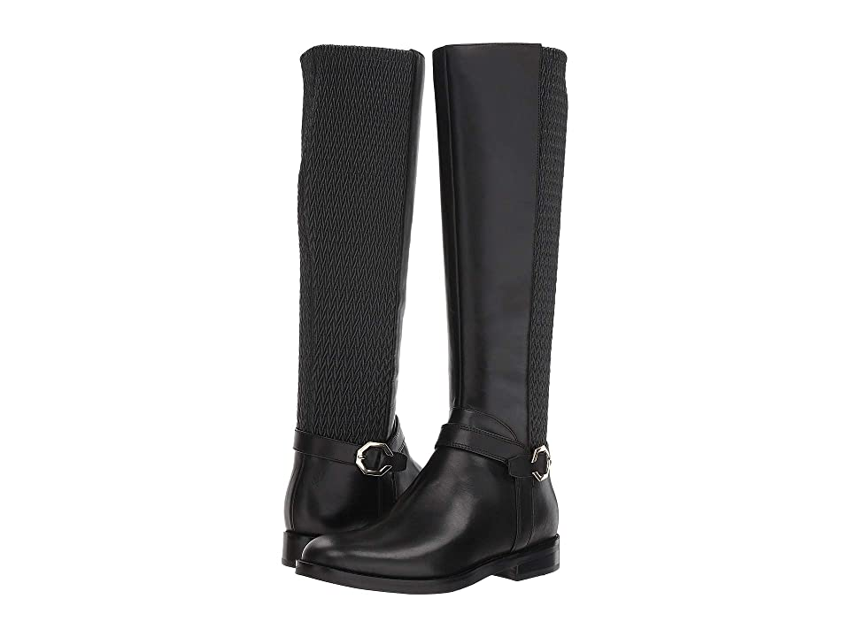Cole Haan Leela Grand Riding Boot (Black Leather) Women