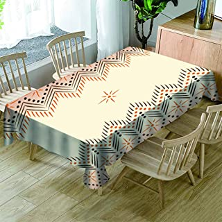 防水油汚れ防止テーブルクロス 北欧スライル シンプルできれいなパターン 撥水撥油テーブルカバー 耐水耐油性が優れ 140X180CM