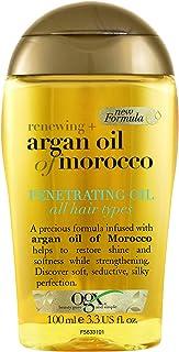OGX, Hair Oil, Renewing+ Argan Oil of Morocco, Penetrating Oil, All Hair Types, 100ml