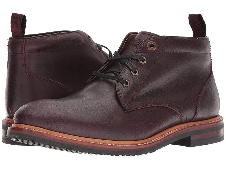 Florsheim Foundry Plain Toe Chukka Boot (Burgundy CF Stead) Men