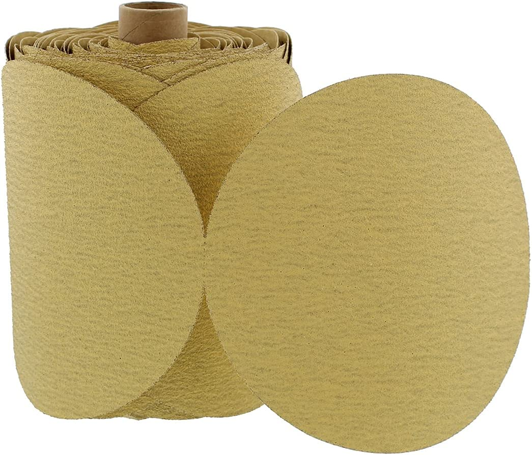 ABN 180 Grit Sandpaper Sale Roll - Sanding Aluminu Inch Gifts Round 6 Discs