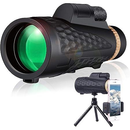 Monokular Teleskop 16 X 55 Hd Smartphone Monokular Für Kamera