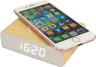 Fisura | Reloj Despertador Cargador Inalámbrico para Móviles ...