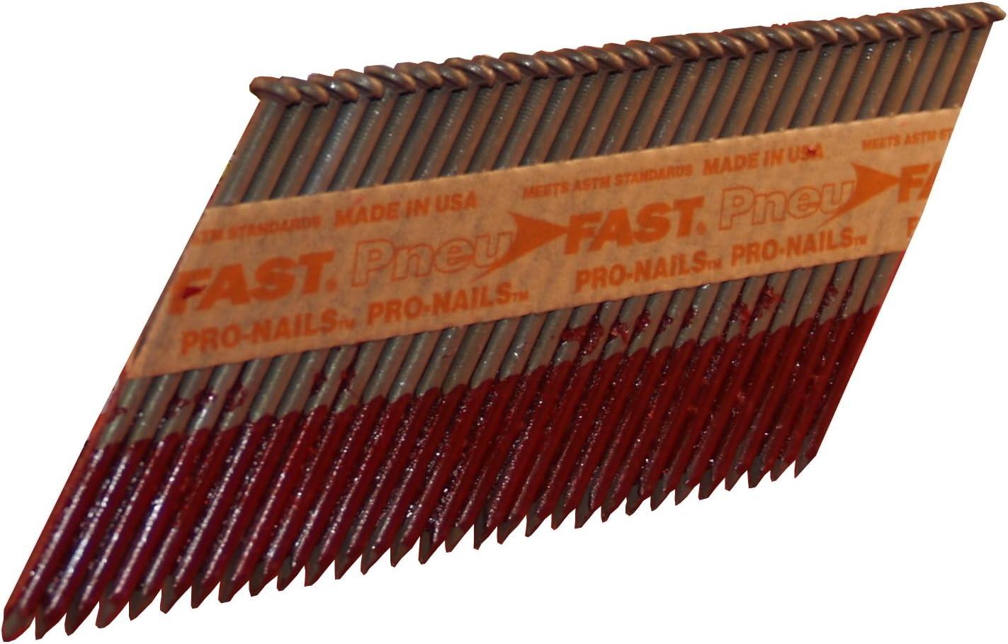 Pneu-Fast SP16DHG 3-1/2-by-0.131-Inch Tri-Coat Galvanized Clippe