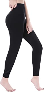 VISNXGI Workout Yoga Pants for Women High Waist Athletic Compression Ankle Length Leggings with Gym Sport