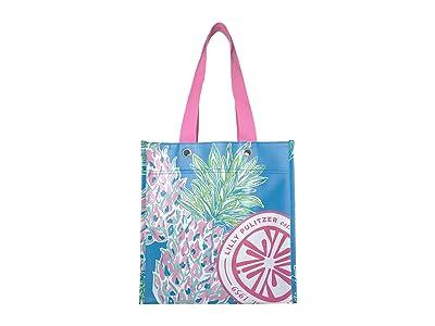 Lilly Pulitzer Market Shopper (Swizzle In) Tote Handbags