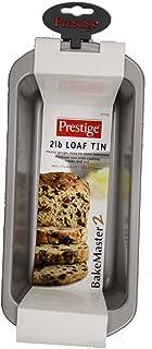 Prestige 57125 BakeMaster 2 Single Non-stick Loaf Tin, 2 lb, Grey, H12.2 x W27.8 x D6.4 cm